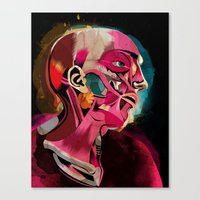 Anatomy Gautier Canvas Print