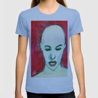 EVE Womens Fitted Tee Athletic Blue SMALL