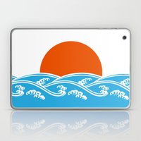 Japanese Tsunami  Laptop & iPad Skin