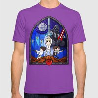 Window to A New Hope Mens Fitted Tee Ultraviolet SMALL