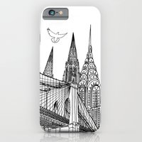 iPhone & iPod Case featuring NYC Silhouettes by Linda Åkeson