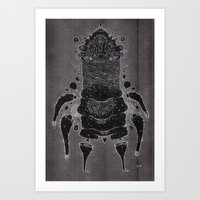 Wrinkle Warrior Art Print