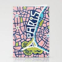 J'adore Paris Stationery Cards