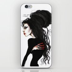 Amy ' I just need a friend'' iPhone & iPod Skin