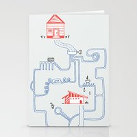 All Roads Lead to Your House Stationery Cards