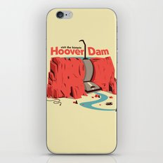 The Hoover Dam iPhone & iPod Skin