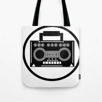 BoomBox Tote Bag
