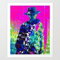 The Glitch With No Name Art Print