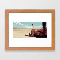 Party Smasher Framed Art Print