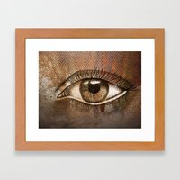 Refracted Canvas Framed Art Print