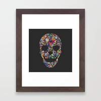 Under Your Skin in Glorious Technicolor Framed Art Print