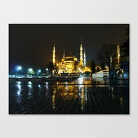 Istanbul night (Turkey 2013) Canvas Print