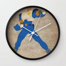 Commanding Captain (Captain Commando) Wall Clock
