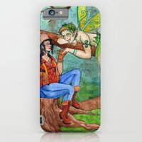 The Wood Nymph and the Lumberjack iPhone 6 Slim Case