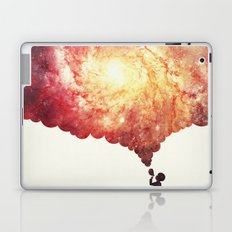 The universe in a soap-bubble! (Awesome Space / Nebula / Galaxy Negative Space Artwork) Laptop & iPad Skin