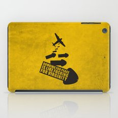 Bombing for peace... iPad Case