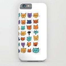 Stylish Cats iPhone 6s Slim Case