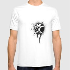 soul of a machine Mens Fitted Tee White SMALL