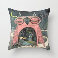 mere your pathetique light Throw Pillow