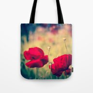Keokea Poppy Dreams  Tote Bag