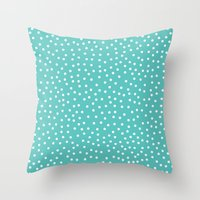 Dots. Throw Pillow