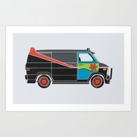 The Mess Up At The Body Shop Art Print