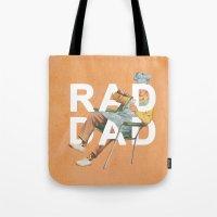 Rad Dad Tote Bag