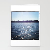 Sparkle Water Color Phot… Stationery Cards