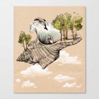 Daydream Island Canvas Print