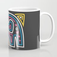 Mola Elephant 2 Mug