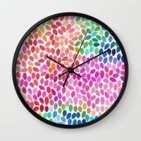 rain 5 Wall Clock