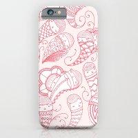 Ghostly Paisley: Bloodlust iPhone 6 Slim Case