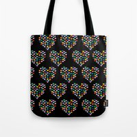 Hearts Heart Multiple On… Tote Bag
