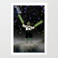 YODA-ling With FORCE - 0… Art Print