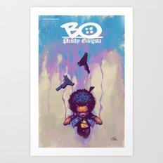 Bo Plushy Gangsta issue #3 cover poster Art Print