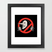 Hollow Gonna Call Framed Art Print