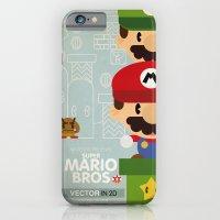 Mario Bros 2 Fan Art iPhone 6 Slim Case