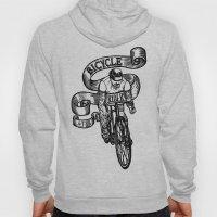 Bicycle Rider Hoody