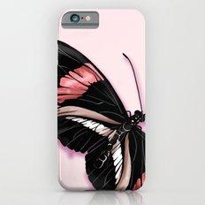 Papillon rouge et noir Slim Case iPhone 6s