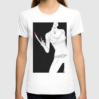 X23 Womens Fitted Tee White SMALL