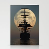 ship Stationery Cards featuring Ship by samedia