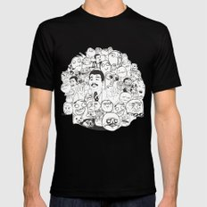 Meme P&B Mens Fitted Tee SMALL Black
