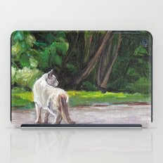 What the Cat Sees By the Hot Glass Studio Hydrangea iPad Case