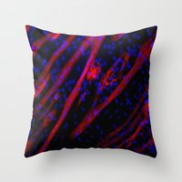 Microscopic Muscle Cells Throw Pillow