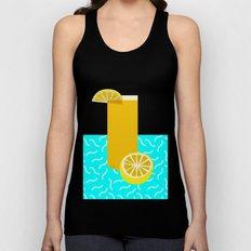 Lemonade /// www.pencilmeinstationery.com Unisex Tank Top