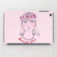 Floral Feminist Bitch iPad Case