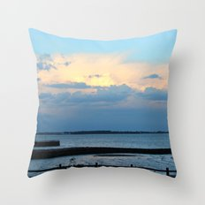 Behind the Clouds Throw Pillow