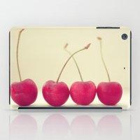 Cherry Line iPad Case