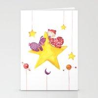 Baby star Stationery Cards