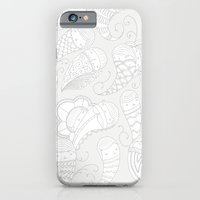 Ghostly Paisley: Dust to Dust iPhone 6 Slim Case